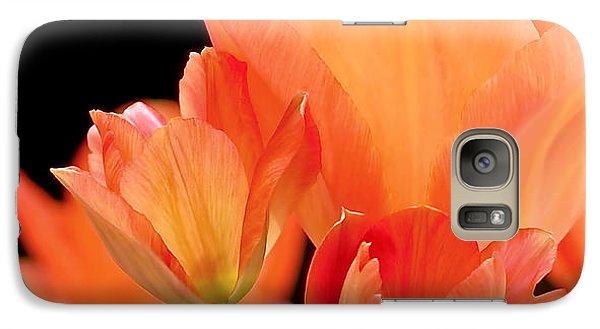 Tulips In Shades Of Orange Galaxy S7 Case