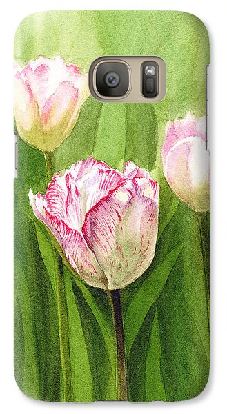 Tulips In The Fog Galaxy S7 Case