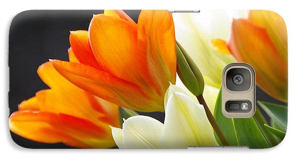 Galaxy Case featuring the photograph Tulips by Marilyn Wilson