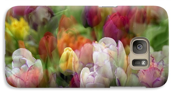 Galaxy Case featuring the photograph Tulips by Penny Lisowski