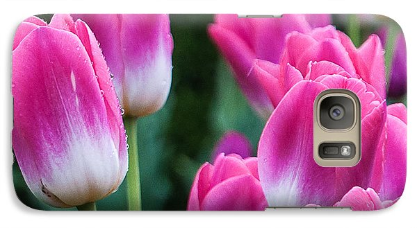 Galaxy Case featuring the photograph Tulips by Sergey Simanovsky