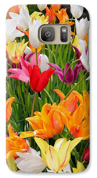 Galaxy Case featuring the photograph Tulips Tulips by Haleh Mahbod