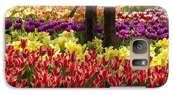 Galaxy Case featuring the photograph Tulips Tulips Tulips by Robert Camp