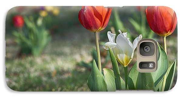 Galaxy Case featuring the photograph Tulips by Yvonne Emerson AKA RavenSoul