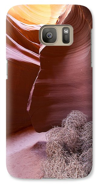 Galaxy Case featuring the photograph Tumbleweed In The Canyon by Bryan Keil
