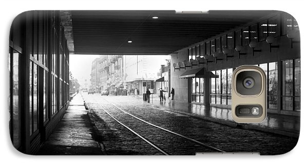 Galaxy Case featuring the photograph Tunnel Reflections by Lynn Palmer