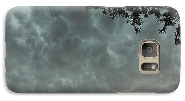 Galaxy Case featuring the photograph Turbulence by Teresa Schomig