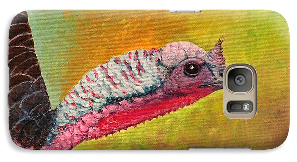 Galaxy Case featuring the painting Turkey Aura by Janet Greer Sammons