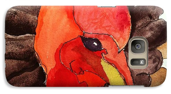 Galaxy Case featuring the painting Turkey In Waiting by Rand Swift