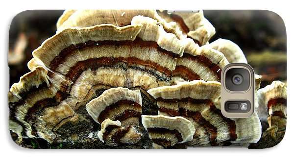 Galaxy Case featuring the photograph Turkey Tail Fungi by William Tanneberger