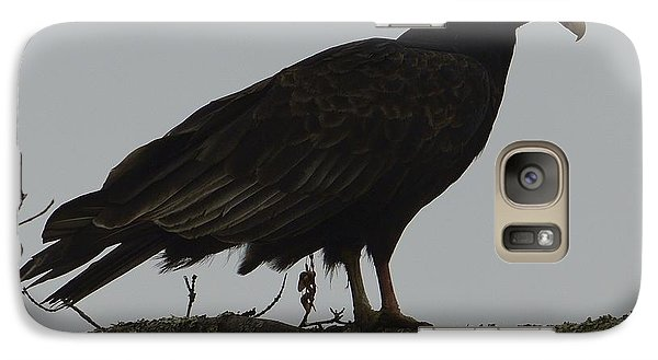 Galaxy Case featuring the photograph Turkey Vulture by Randy Bodkins