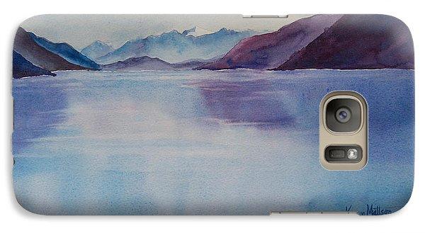 Galaxy Case featuring the painting Turnagain Arm In Alaska by Karen Mattson