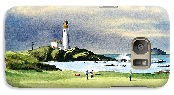 Turnberry Golf Course Scotland 10th Green Galaxy S7 Case