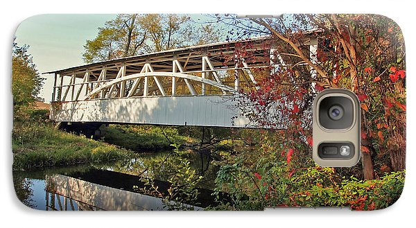 Galaxy Case featuring the photograph Turner's Covered Bridge by Suzanne Stout