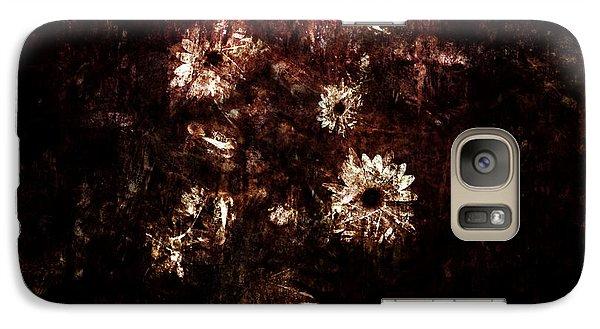 Galaxy Case featuring the digital art Turner's Flowers by Kim Gauge