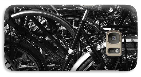Galaxy Case featuring the photograph Turning Wheels by Maja Sokolowska