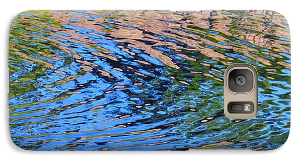 Galaxy Case featuring the photograph Turquoise Luminesence by Cindy Lee Longhini