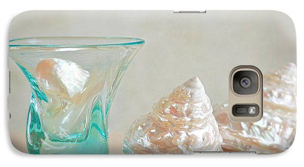 Galaxy Case featuring the photograph Turquoise Tumbler by Aiolos Greek Collections