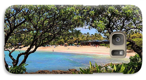 Galaxy Case featuring the photograph Turtle Bay Beach by Kristine Merc