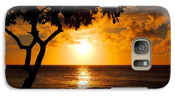 Galaxy Case featuring the photograph Turtle Bay Sunset by Kristine Merc