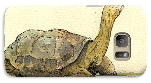 Turtle Galapagos Galaxy S7 Case by Juan  Bosco