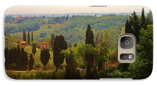 Galaxy Case featuring the photograph Tuscan Landscape by Dany Lison