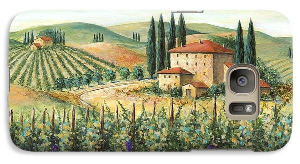 Tuscan Vineyard And Villa Galaxy S7 Case