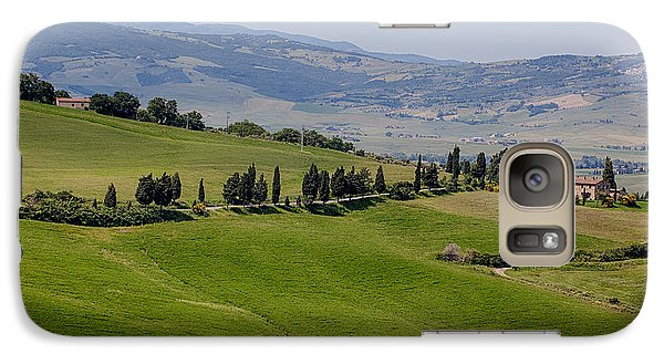 Galaxy Case featuring the photograph Tuscany by Uri Baruch