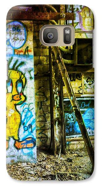Galaxy Case featuring the photograph Tweety by Debra Fedchin