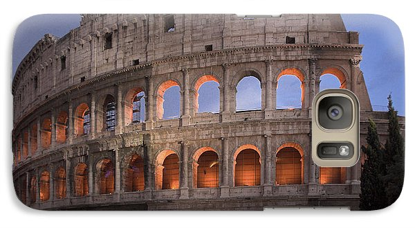 Twilight Colosseum Rome Italy Galaxy S7 Case