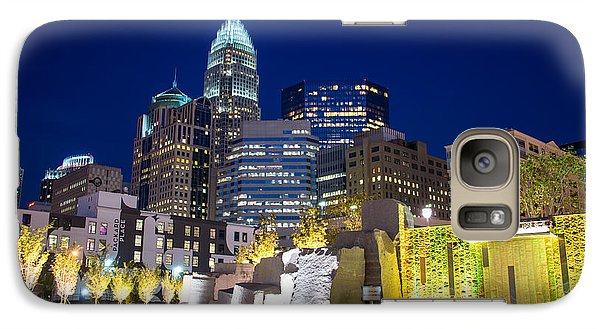 Galaxy Case featuring the photograph Twilight In Charlotte by Serge Skiba