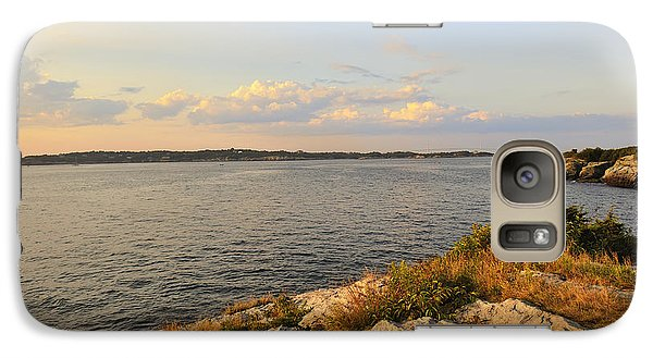 Galaxy Case featuring the photograph Twilight Newport Rhode Island by Marianne Campolongo