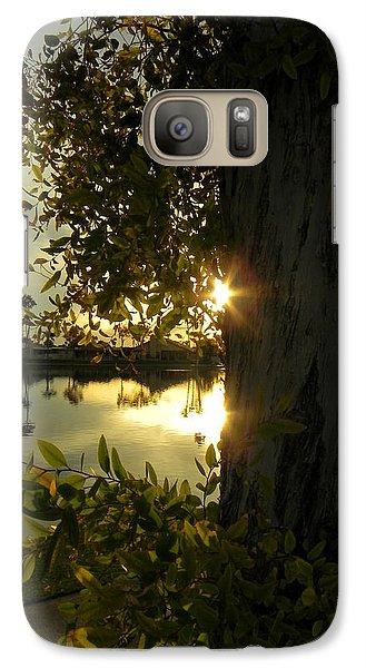 Galaxy Case featuring the photograph Twilight Splendor by Deb Halloran