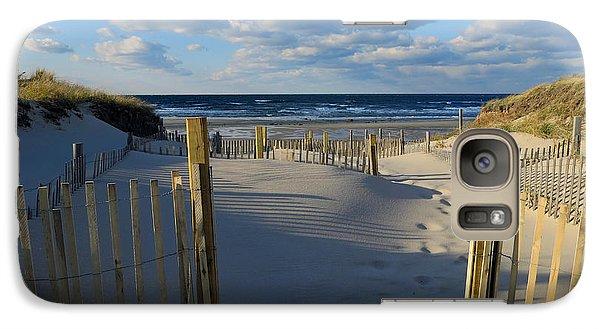 Galaxy Case featuring the photograph Golden Hour Beach by Dianne Cowen