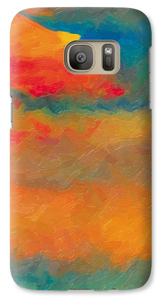 Galaxy Case featuring the painting Twilight Whispers by The Art of Marsha Charlebois