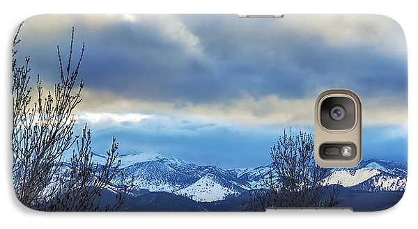 Galaxy Case featuring the photograph Twilight's Sky by Nancy Marie Ricketts