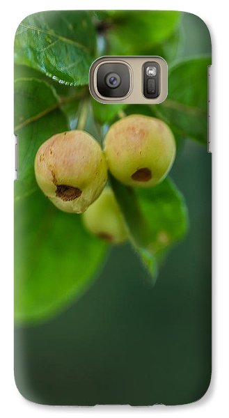 Galaxy Case featuring the photograph Twin Berries by Jacqui Boonstra