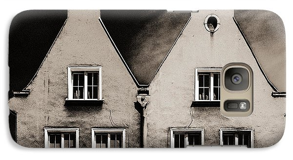 Galaxy Case featuring the photograph Twin Houses by Arkady Kunysz