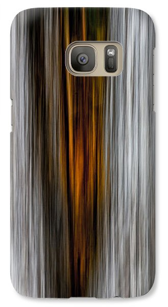 Galaxy Case featuring the photograph Twin Trunks by Darryl Dalton