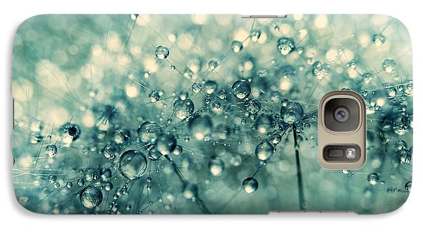 Galaxy Case featuring the photograph Twinkle In Blue II by Sharon Johnstone