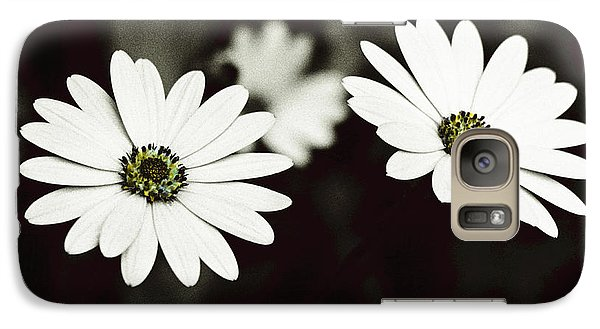 Galaxy Case featuring the photograph Twins  by Lana Enderle