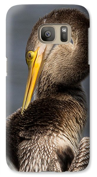 Galaxy Case featuring the photograph Twisted Bird by Alan Raasch
