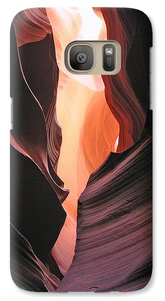 Galaxy Case featuring the photograph Twisted Canyon by Marcia Socolik