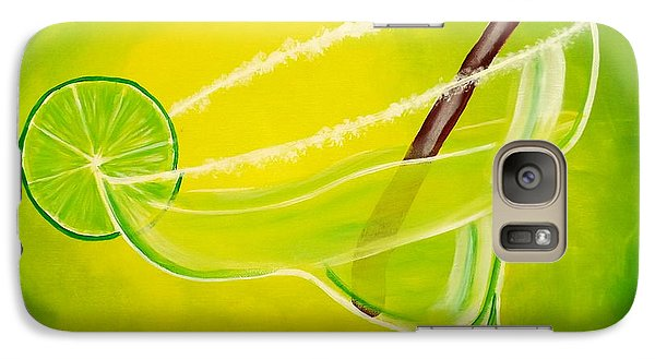 Galaxy Case featuring the painting Twisted Margarita by Darren Robinson