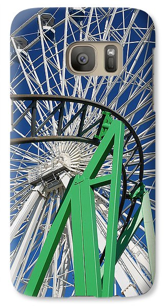 Galaxy Case featuring the photograph Twisted Metal by Mary Beth Landis