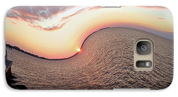 Galaxy Case featuring the photograph Twisted Sunset by Aimee L Maher Photography and Art Visit ALMGallerydotcom