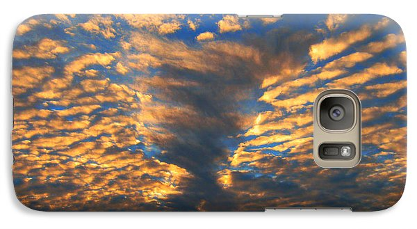 Galaxy Case featuring the photograph Twisted Sunset by Janice Westerberg