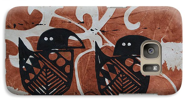 Galaxy Case featuring the photograph Two Beaks by Cynthia Lagoudakis