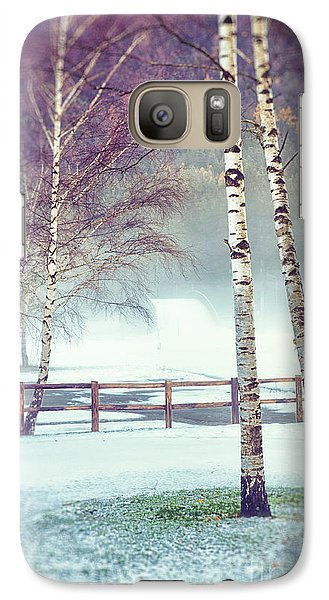 Two Birches Galaxy S7 Case by Silvia Ganora