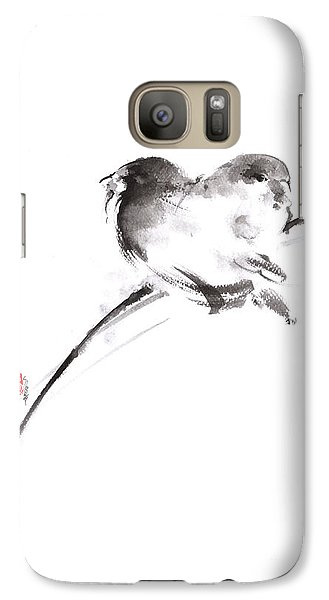 Two Birds Minimalism Artwork. Galaxy S7 Case by Mariusz Szmerdt